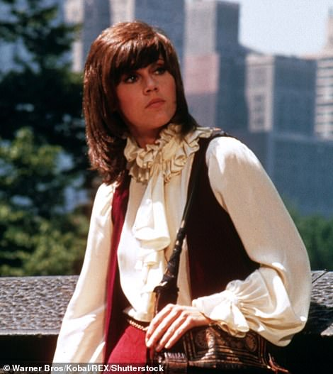 Signature role: She also starred in1971's Klute, which earned her both the Golden Globe and Oscar for best lead actress, she has won seven Golden Globes over the years