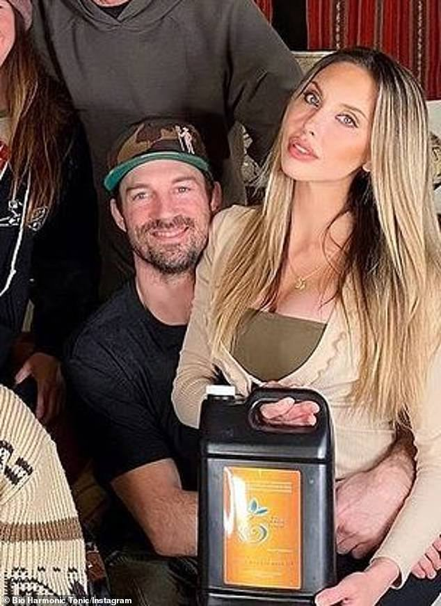 Betrothed: The British-born, Australia-raised blonde is excited to attend her daughter Chloe Lattanzi's 'small wedding' to her fiancé of 10 years, James Driskill, later this year (pictured Monday)