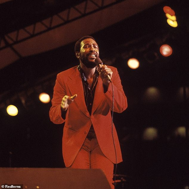 Controversial decision: Multiple legal scholars lambasted the initial decision against Williams, claiming it was poorly decided and wasn't based on the finer points of musical copyright law; Gaye seen in 1976