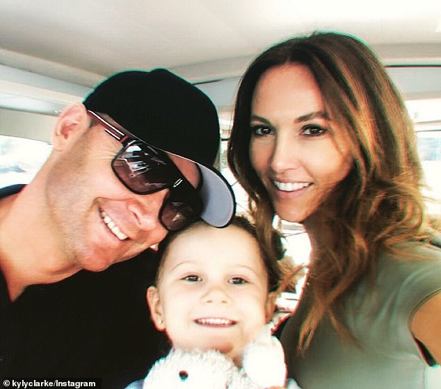 Split:Michael, 39, and Kyly, 39, announced their split in February last year, after seven years together, however it is believed they actually split quietly five months earlier.They share custody of five-year-old daughter Kelsey Lee. All pictured
