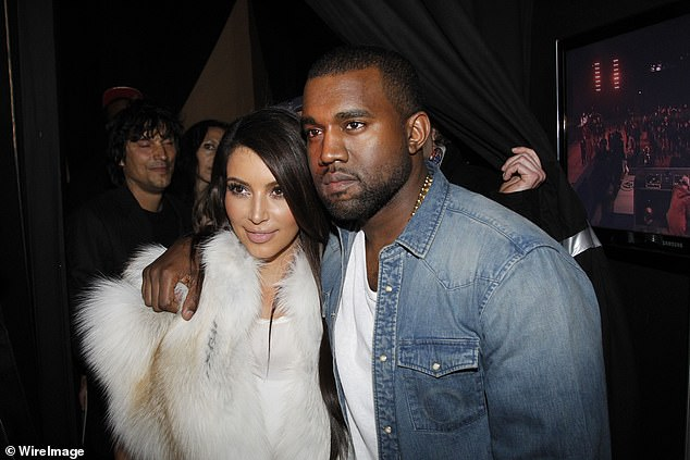 Power duo: In April 2012 Kim and Kanye started dating and they are seen together in NYC and the next month the KUWTK star tweets that she is the 'girlfriend' of the rapper