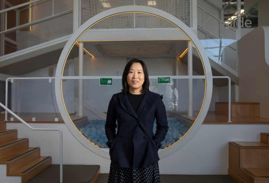 Mollie Li, founder of Nubo at her kids playground and activity centre, Alexandria.
