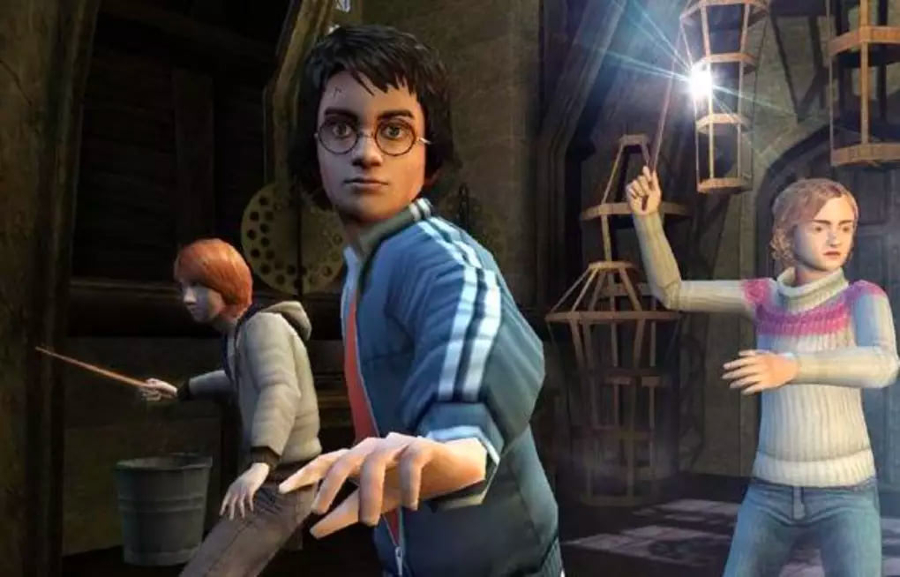 """""""Harry Potter and the Goblet of Fire"""" was the fourth game of the series."""