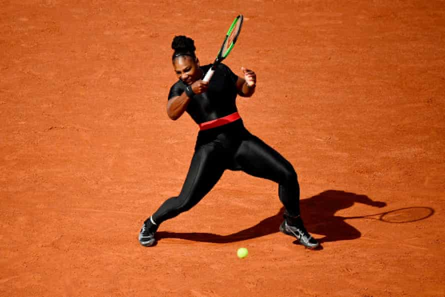 Williams on day three of the Roland Garros 2018 French Open in Paris.
