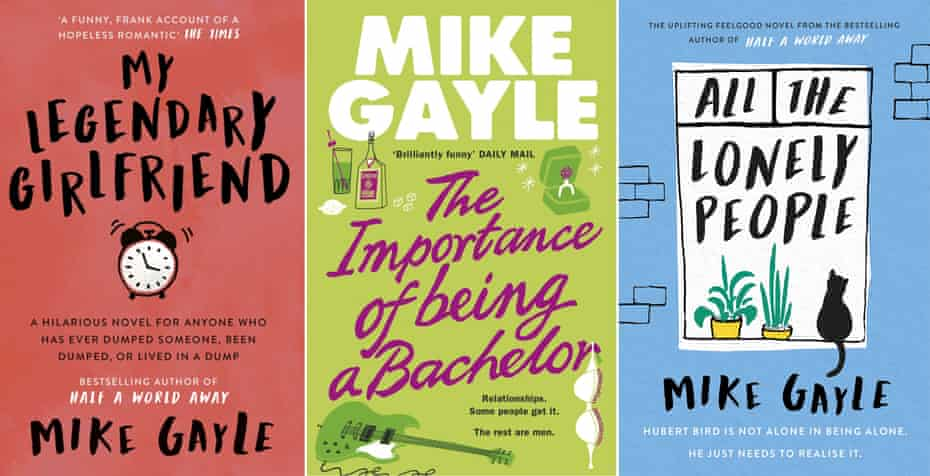 'Love, laughter, hatred and jealousy' … some of Gayle's novels.