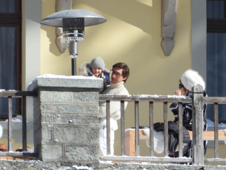 Lady Gaga and Adam Driver filming House of Gucci in Italy