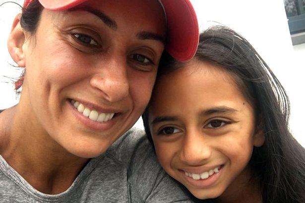 Saira Khan and daughter Amara