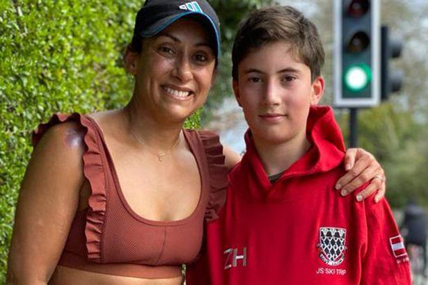 Saira Khan and her son Zac