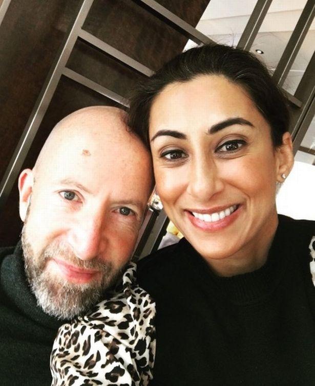 Saira Khan and husband Steve Hyde