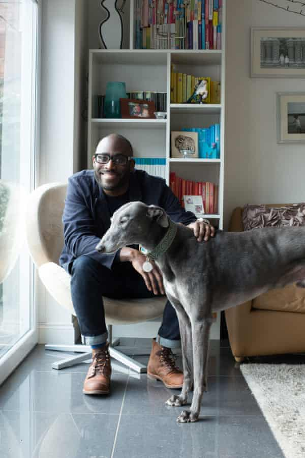 Meet Sail Gayle … the author with his rescue greyhound.