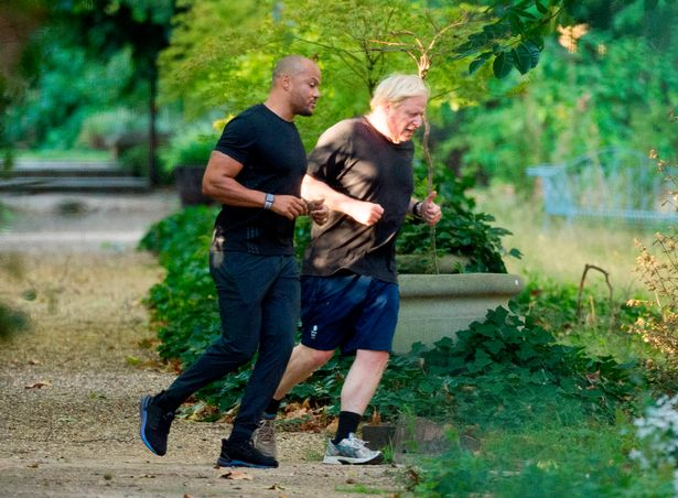 The PM's costly personal trainer, Harry Jameson