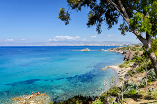 A Cyprus beach