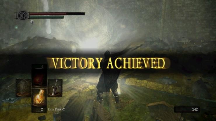 screenshot from the video game Dark Souls