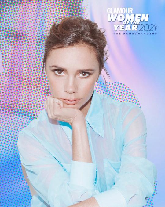 Victoria Beckham, winner of Fashion Gamechanger award at Glamour Women of the Year awards