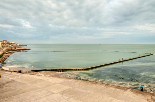 The 4 acre Grade II listed Walpole Bay Tidal Pool, Margate