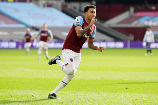 Jesse Lingard has scored three goals in six appearances for West Ham