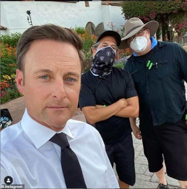 Will he host?It is unclear whether or not the network has decided to replace Harrison for the upcoming New Mexico season, but earlier this week he was photographed golfing in Los Angeles