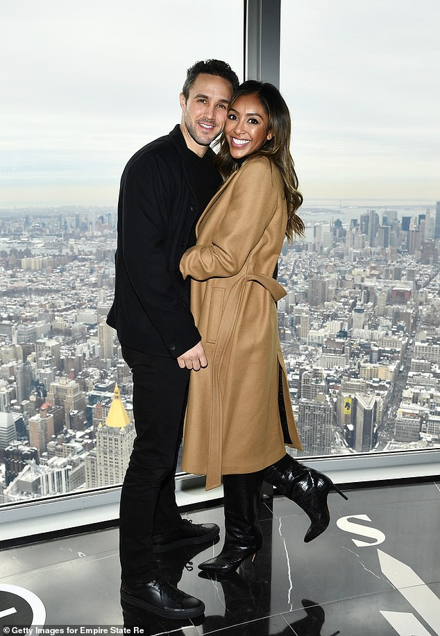 Both women have found love through Bachelor Nation with Adamsgetting engaged to Zac Clark over the summer and Bristowe dating Jason Tartick.