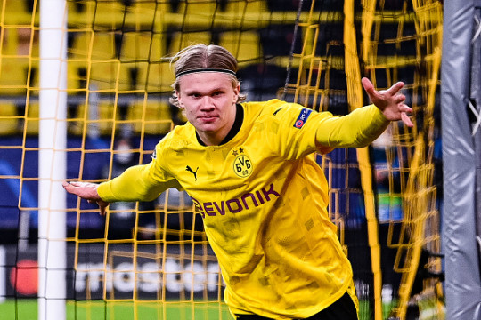 Erling Haaland has a £90m buyout clause in his deal with Borussia Dortmund