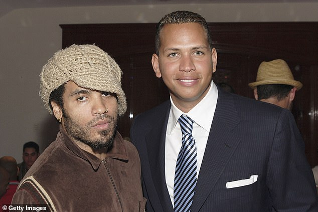 Friends: Kravitz and Rodriguez seen together on January 29, 2005 in Coral Gables, Florida