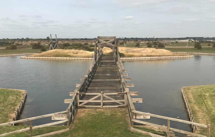 An estuary bridge.