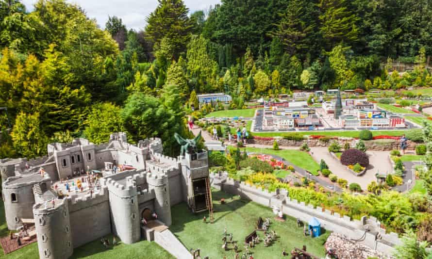 England, Devon, Torquay, Babbacombe, Babbacombe Model Village and Gardens