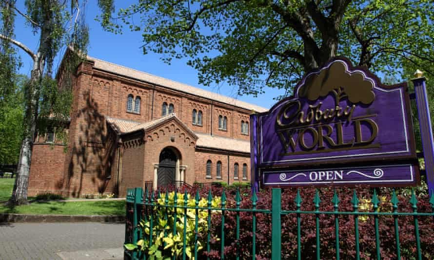 Bournville Church, Bournville,England,UK. Home of Cadbury's Chocolate