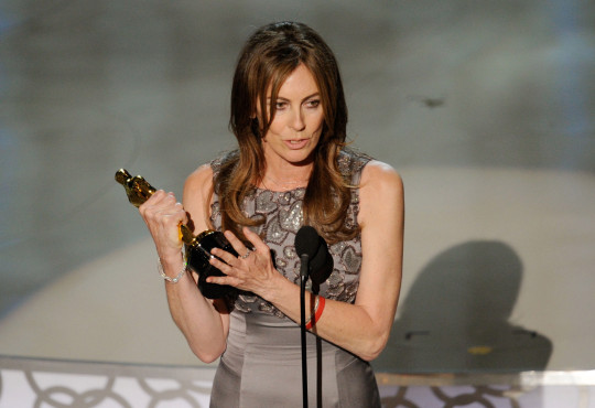 Kathryn Bigelow winning best director at the Oscars 2010