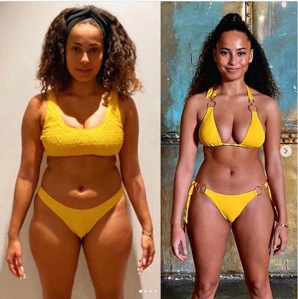 Amber Gill weight loss