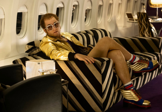 Taron Egerton took on the role of Elton in the critically-acclaimed film Rocketman (Picture: Paramount Pictures)