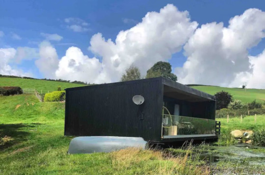Airbnb most wishlisted homes of 2021 The Pond and Stars Cabin, Abergele, Wales Picture: Airbnb