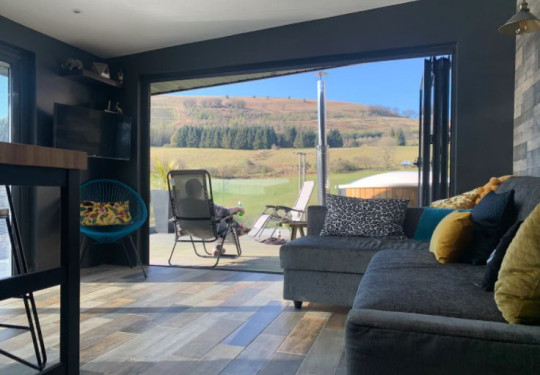 Airbnb most wishlisted homes of 2021 Twmbarlwm Luxury Retreat, Gwent, Wales Picture: Airbnb