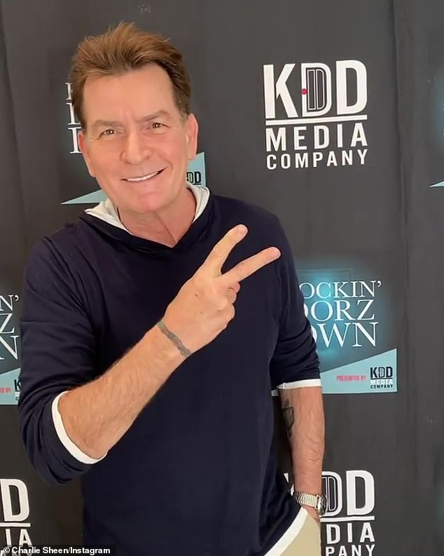 Sheen (pictured on January 21) told Us Weekly on Monday through his publicist Jeff Ballard: 'She's a good egg. I wish Soleil well in this resurgence of hers'