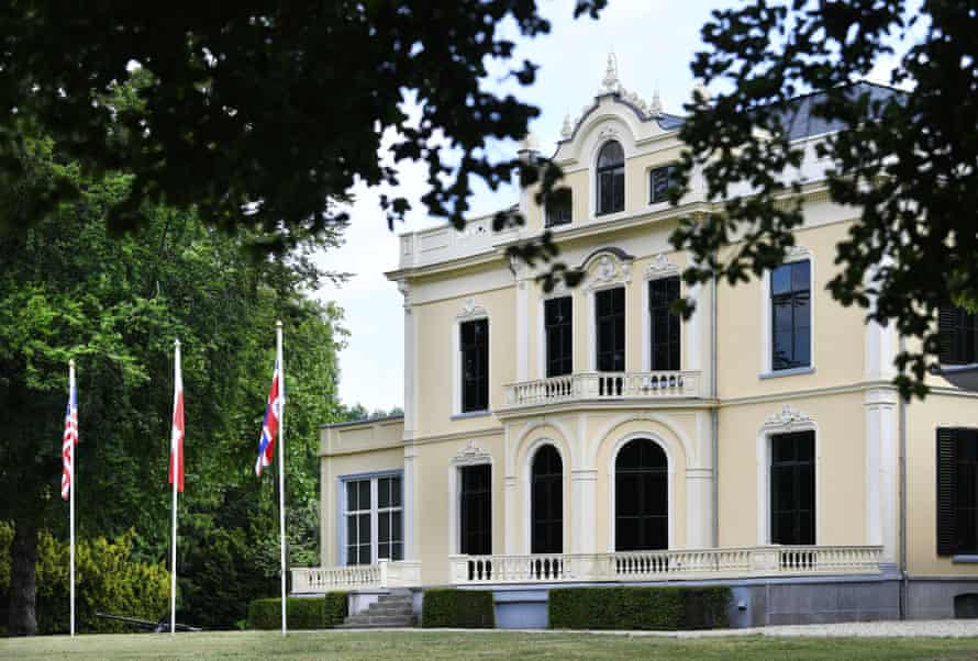 The renovated Airborne Museum, Oosterbeek, in May 2020.