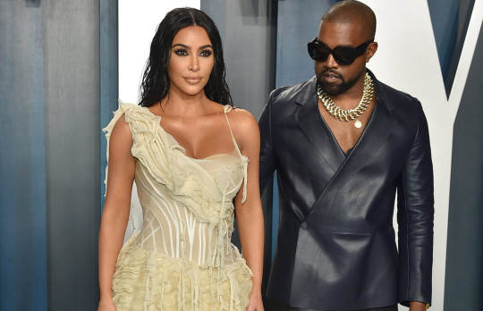 Kanye West and Kim Kardashian split