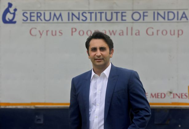 Adar Poonawalla, Chief Executive Officer (CEO) of the Serum Institute of India