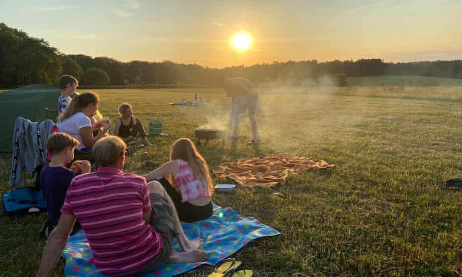 Abbey Home Farm campsite, Cotswolds