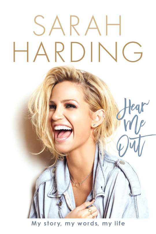 Sarah Harding Hear Me Out book cover