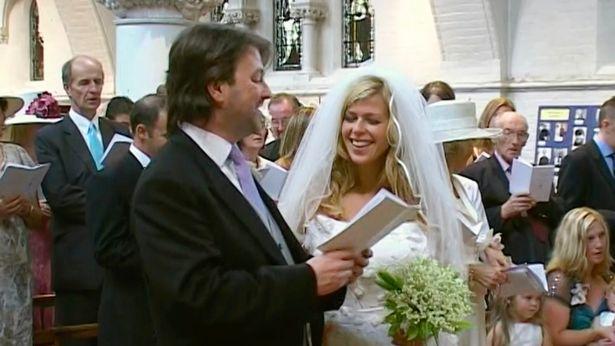 Wedding Derek draper kate garraway