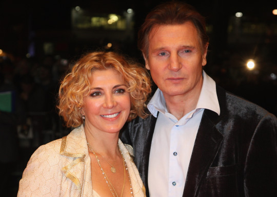Liam Neeson and wife Natasha Richardson
