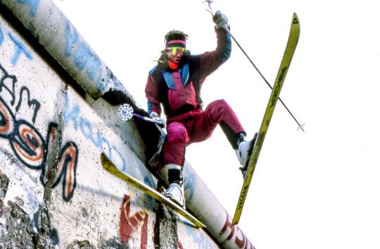 Dan Egan Jumping the Berlin Wall