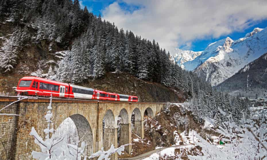The Mont Blanc Express.
