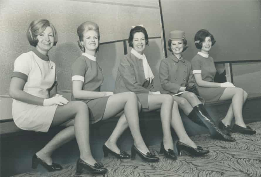 Air Canada flight attendants from the 60s