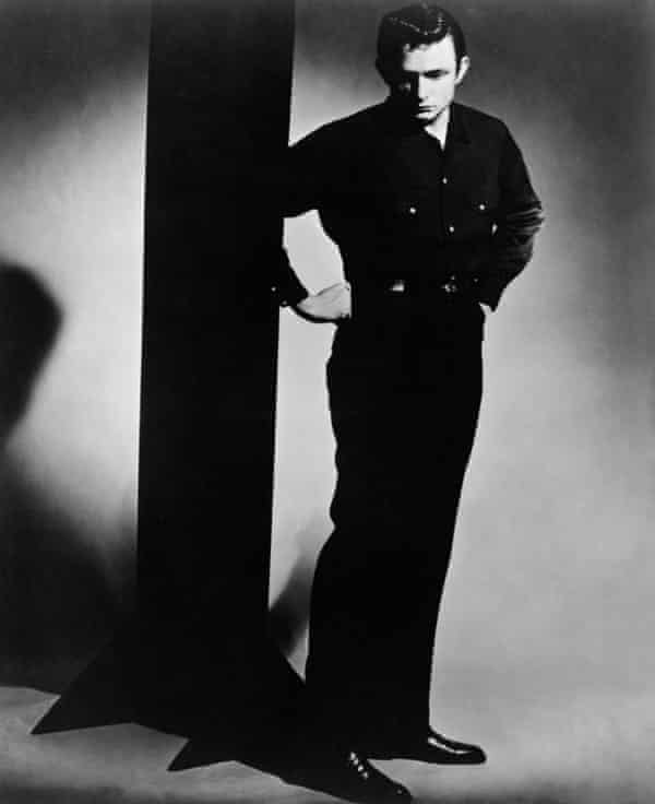 Johnny Cash in a Man in Black portrait from 1957