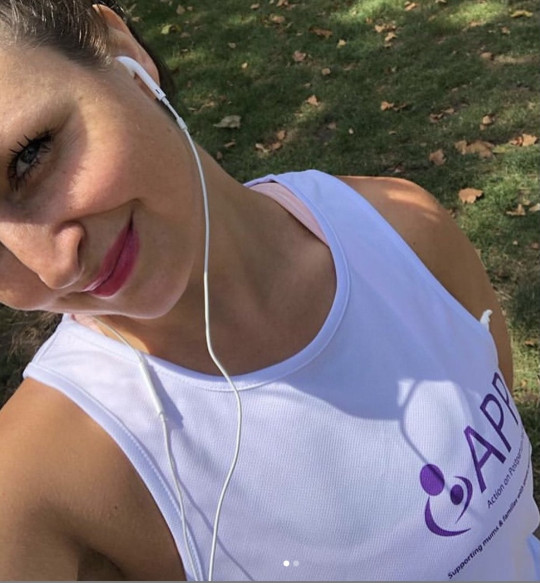 Laura Dockrill on a run