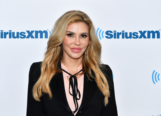 Brandi Glanville on the red carpet