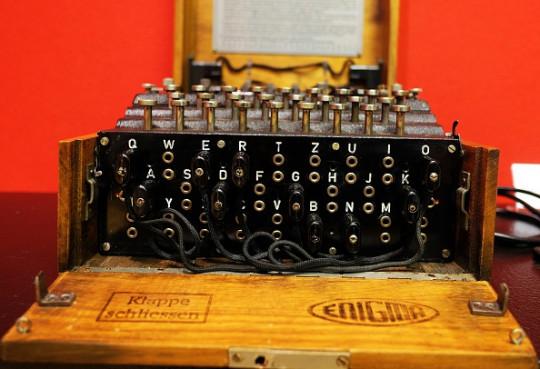 Turing's code breaking machine