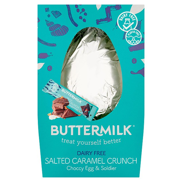 Buttermilk's plant-based chocolate eggs were found to produce the least carbon dioxide, with just 0.56kg of CO2 per egg
