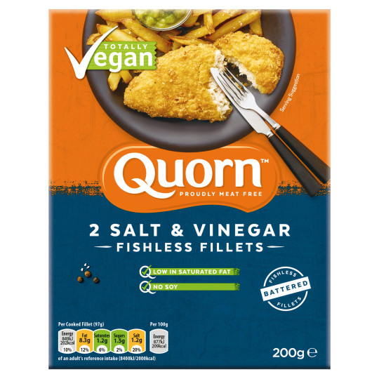 quorn fishless fillets