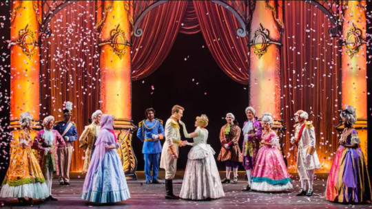 a stage performance on a Disney cruise